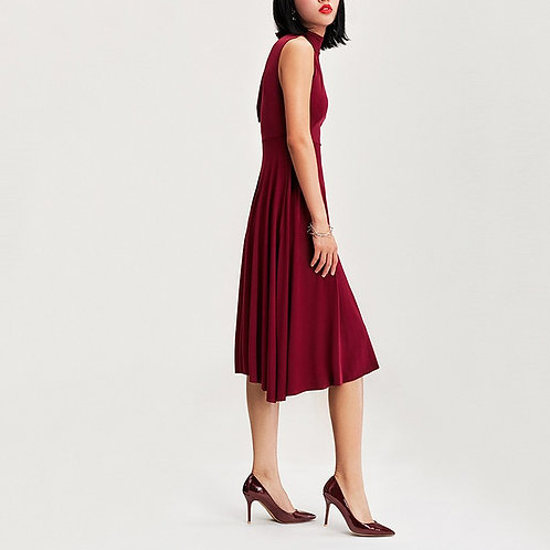 Fisher Classic Crimson Red Patent Leather Pump