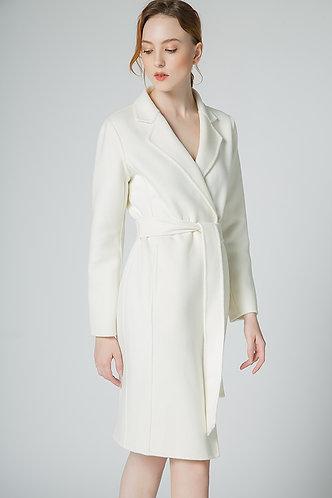 100% Merino Wool Elegant Coat CASH03