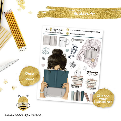 Bookworm | Deko-Kit