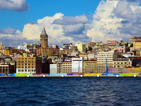 Turecko - Istanbul - věž Galata