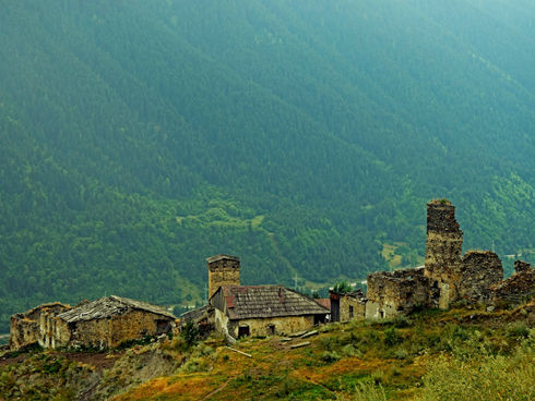 Gruzie - Velký Kavkaz - Svanetie