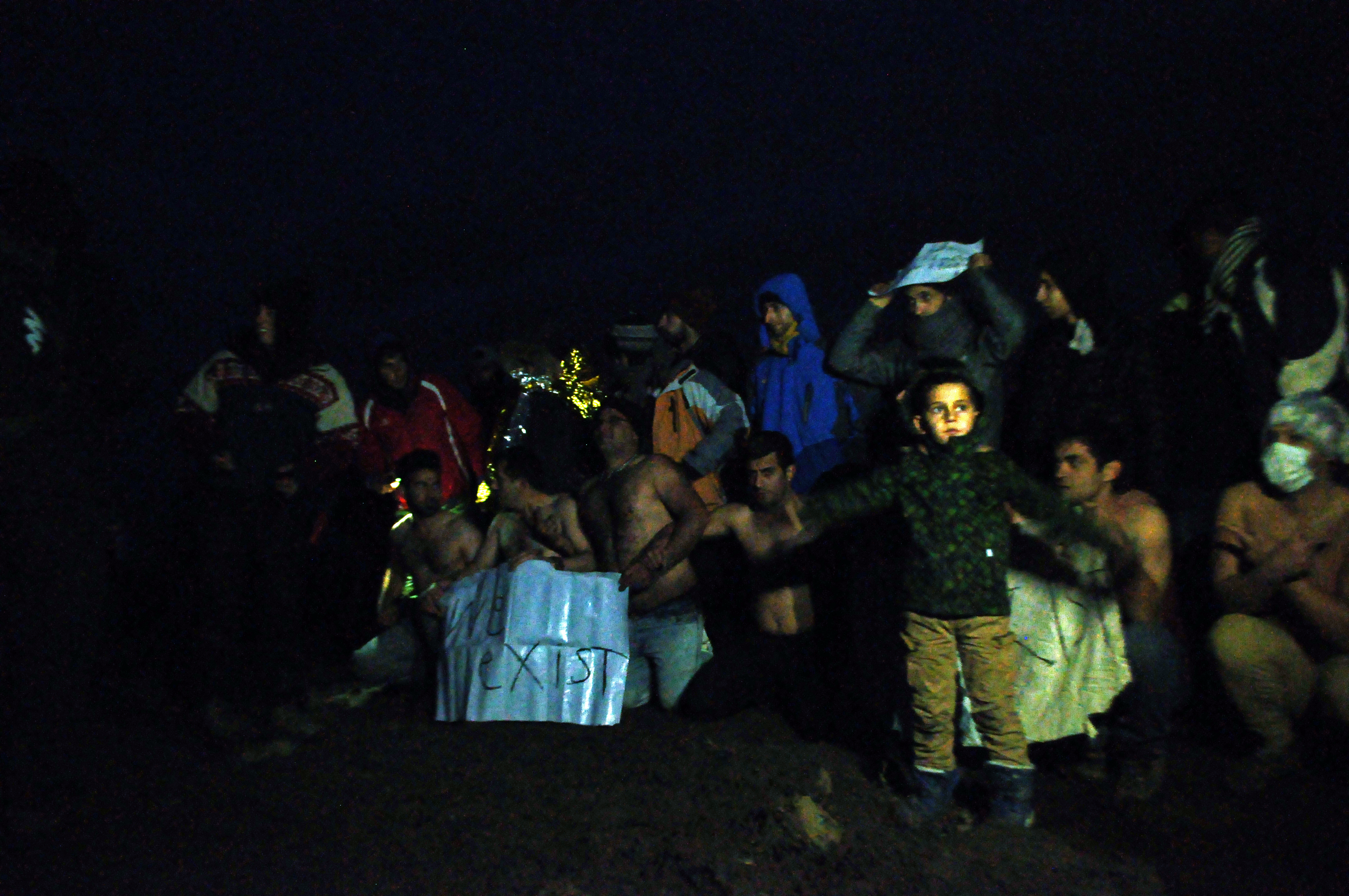 Refugees in Serbia 2016