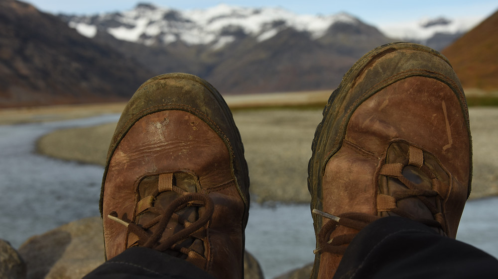 Boty Prabos Vagabund Ankle jsem testovala od jara do podzimu na Islandu.