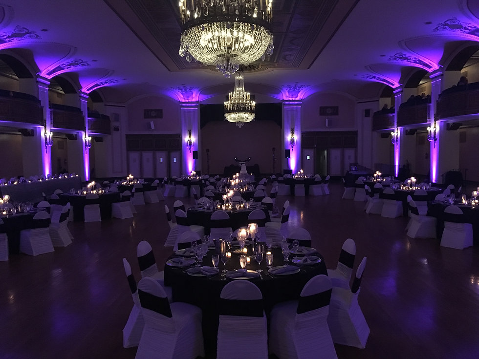 David Charles Events Lighting Uplights.j