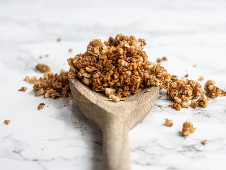 The Easiest Gluten Free Granola In The World