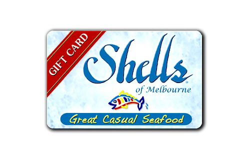 Shells of Melbourne Gift Card