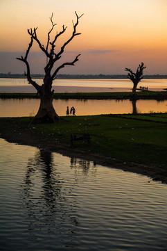 Taungthaman Lake, Myanmar.