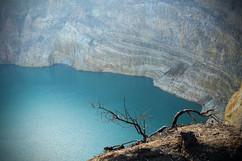 Kelimutu crater, Flores, Indonesia