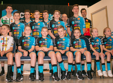 Ploegvoorstelling UCT Ride Cycling Team 2020