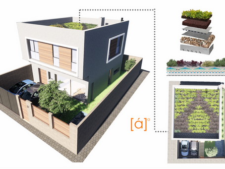 Cubiertas vegetales y jardines verticales para tu vivienda