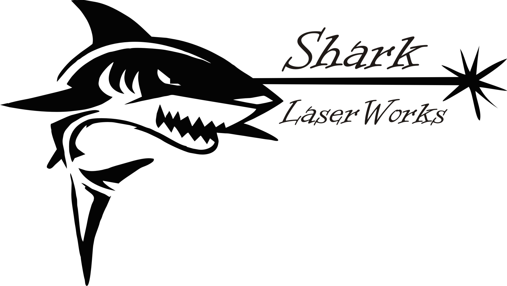 Shark Laser Works Logo