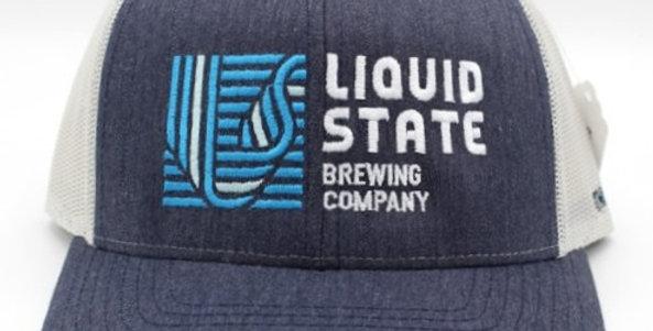 Cap, Navy/Silver (Blue Logo)