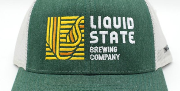 Cap, Dark Green/Silver (Yellow Logo)
