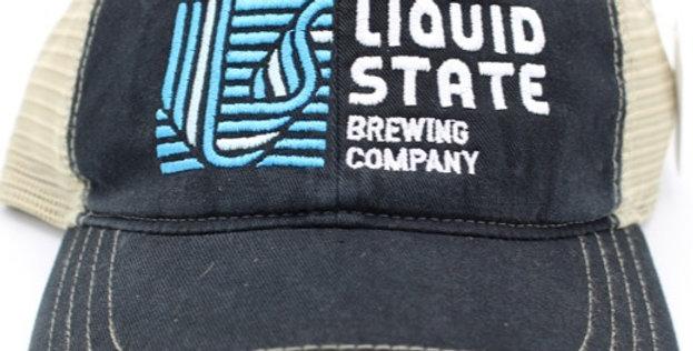 Cap, Navy/Khaki (Blue Logo)