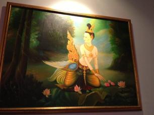 Plearn Thai art on wall.jpg