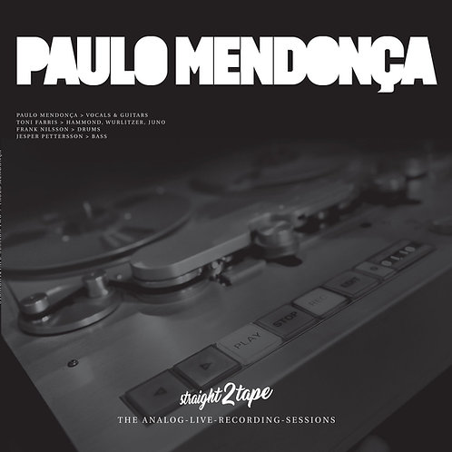 Paulo Mendonça - Straight2tape