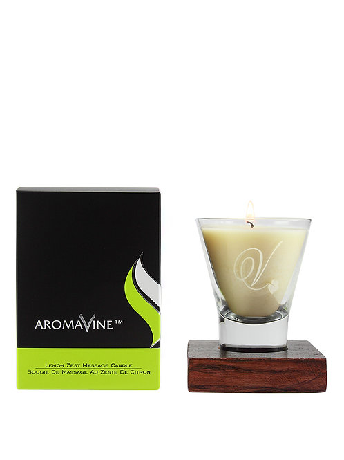 Lemon Zest Massage Candle