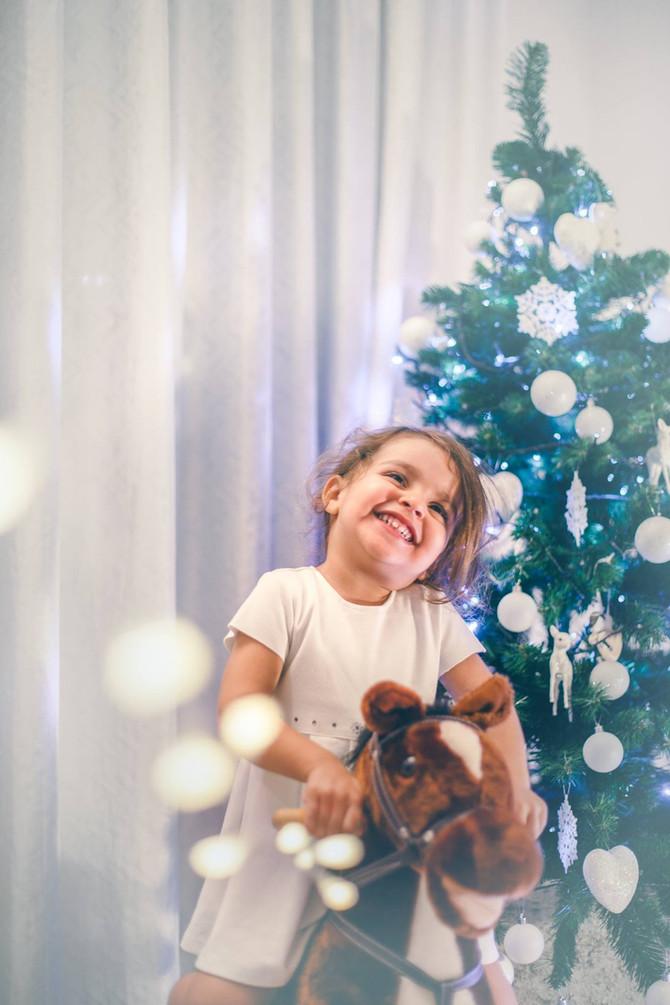 Servizio fotografico natalizio di Asia | Natale 2017 | Treviso