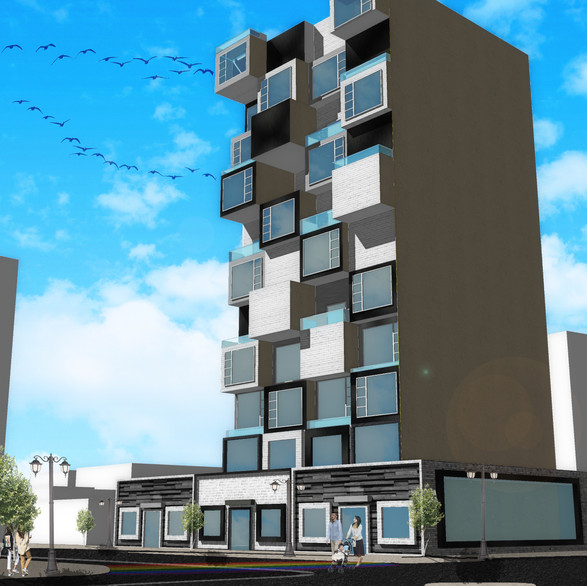 Residential Mixed Use Concept