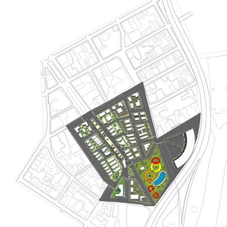 Illustrative Site Design of Passaic New Jersey