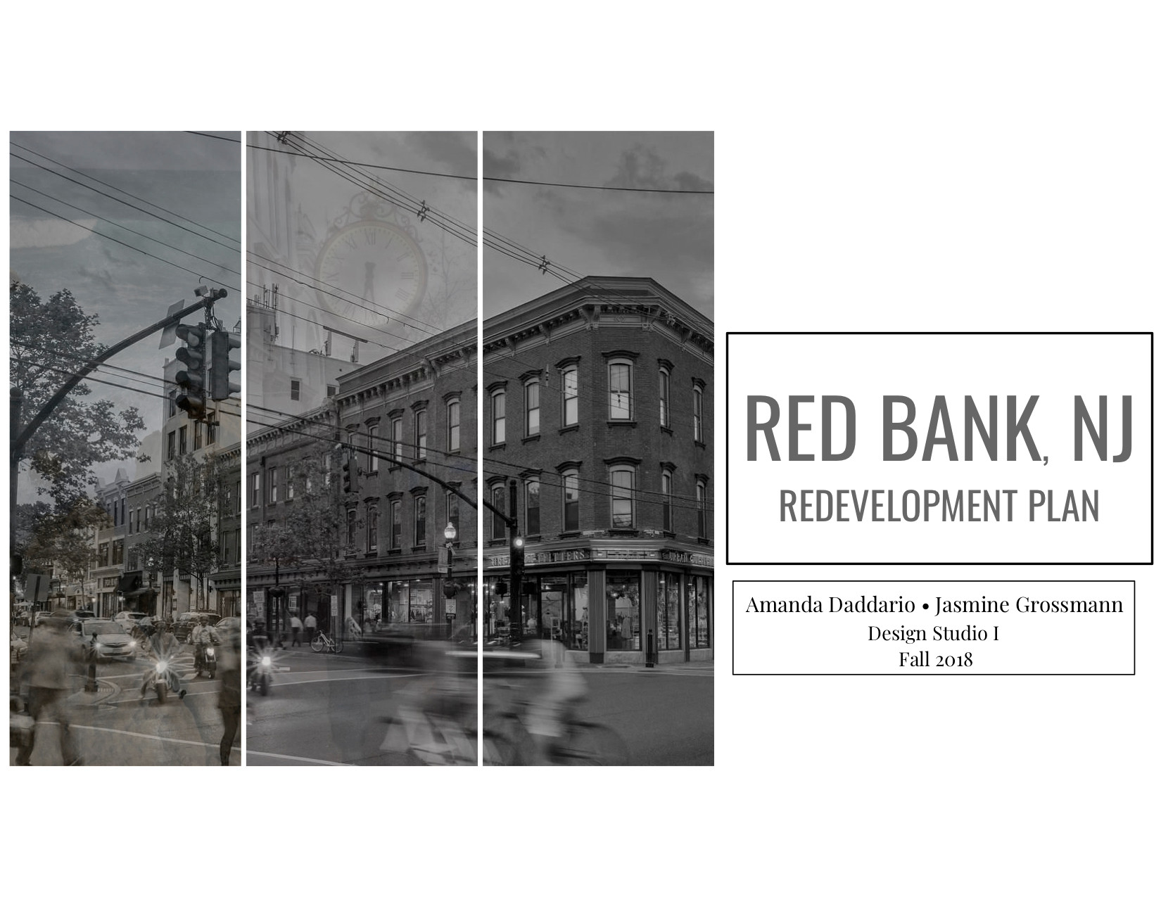 Red Bank Monmouth Street Redevelopment Concept