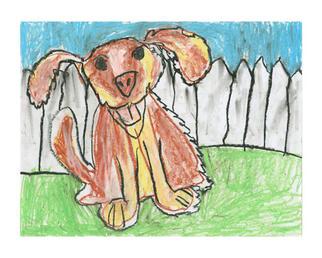 025-Gideon-Gutierrez---7th-Street-Arts-Academy---Kindergarten---Dog