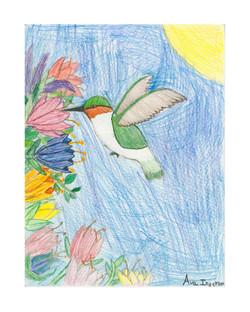 #54 Ava Ingerson 5th Grade South Shores Elementary 10x12
