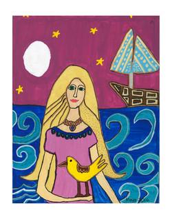 Maya Chazem #043-11x14