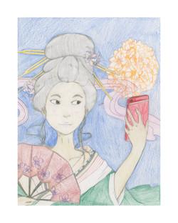 #48 Yuni Choi 8th Grade Peary Middle School 10x13