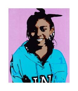 #43 Daisy Arellano 6th Grade Wilmington MS Steam Magnet 9x11