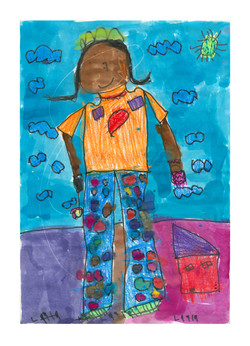 #06 Layla Trischuk K Grade 15th Street Elementary 13x18
