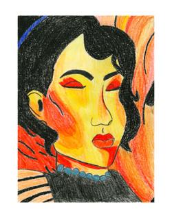 Iris Gonzalez #075-11x14
