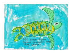 #86 Jovan Salcido 2nd Grade Catskill Elementary School 13x17