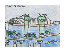 #35 Nadia Rivera 1st Grade Broad Ave Elementary 13x10