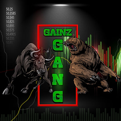 Gainz Gang Stock Market Alerts Logo - stock market for beginners