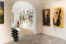 galeria de arte contemporânea