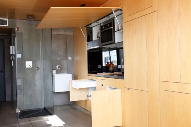 Apartamento compacto em Barcelona
