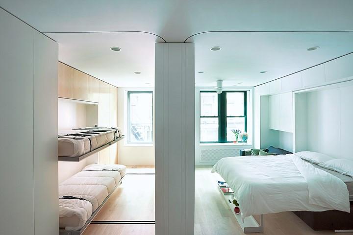 Apartamento pequeno em Nova Iorque