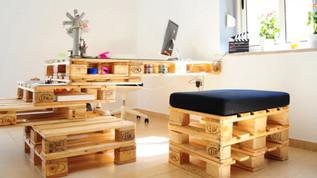 Home Office Sustentável: Despojado e Reciclado