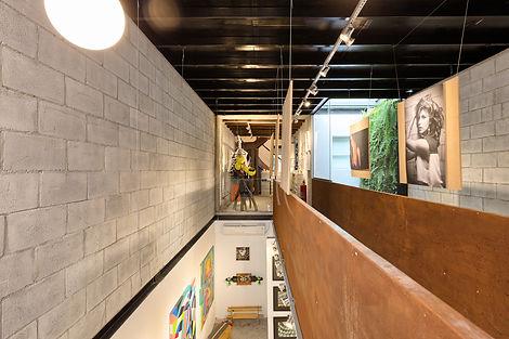ampliação de loja em são paulo com passarela moderna