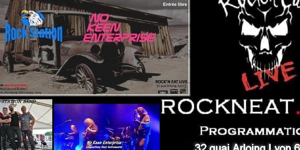 Rock Station Live In Rock 'N' Eat