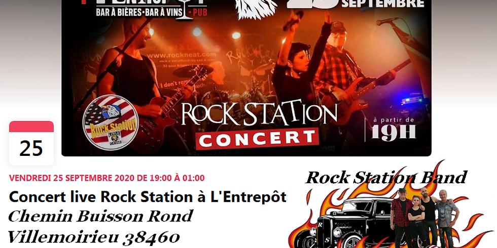 Rock Station Live in Villemoirieu