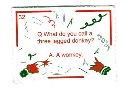 What Milton Jones has in common with Christmas cracker joke writers
