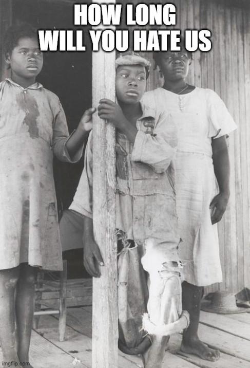 Part of a Negro tenant family