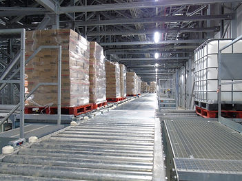 100318 - NewCold automated pallet convey