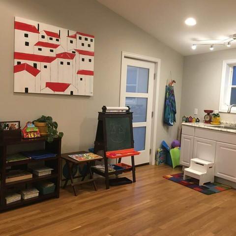 Orion montessori classroom and indoor activity area