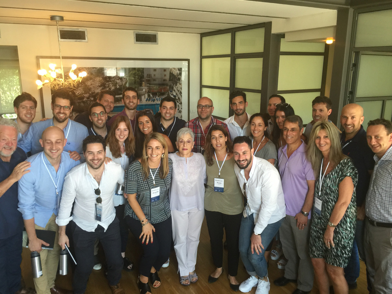 AJF's (Australian Jewish Funders)  Mamilla Delegation with Lyn Schusterman, Chair- Charles & Lyn Schusterman Family Foundation