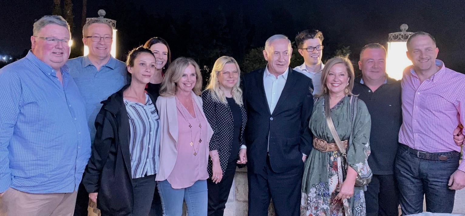 Israel's PM Binyamin Netanyahu meets AICC (VIC) Industry 4.0 Delegation co-led by Prof. Bronwyn Fox, Deputy Vice-Chancellor- Swinburne University & Graham Goldsmith AO, Chairman- SEEK