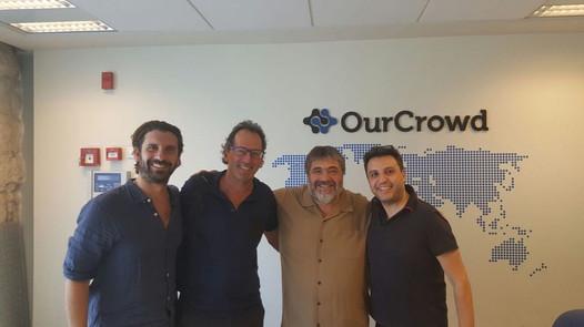 Dan Bennnet, MD- OurCrowd Australia, Tom Krulis, Jon Medved, CEO- OurCrowd & Ben Kohn- Link Financial Services