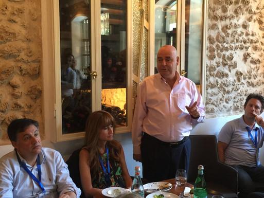 Sam & Ruth Alter, Eitan Wertheimer, CEO- Iscar & Justin Liberman.
